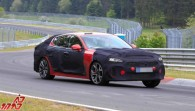 New 2021 Kia Stinger facelift starts testing at the Nürburgring
